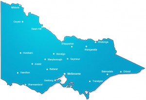 Asphalting locations we service across Victoria