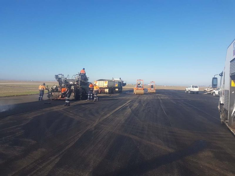 Avalon Airport Runway Construction
