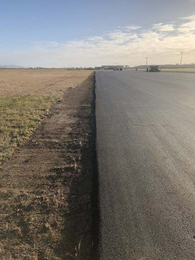 Avalon Airport Runway Asphalting Project