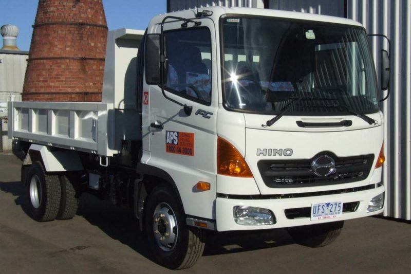 Asphalt Crew truck