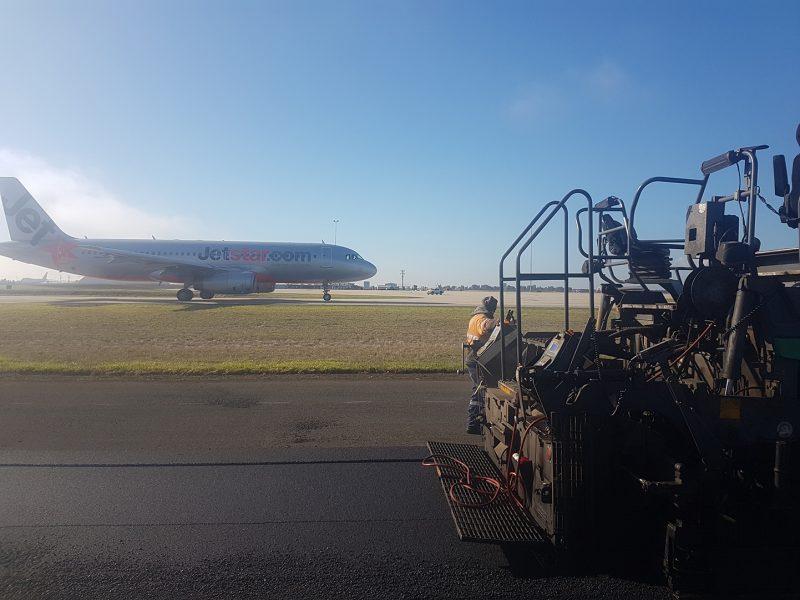 Avalon Airport Runway Asphalt Project