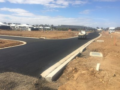 Road-Construction-Housing-Estate-Geelong