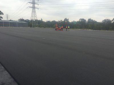 Roads + Road Maintenance Geelong Hockey Field