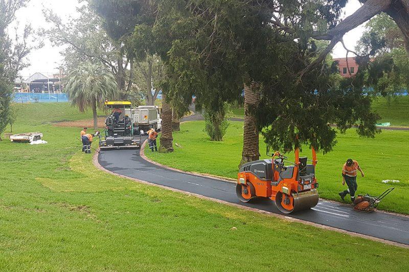 Johnstone Park Geelong Pathway