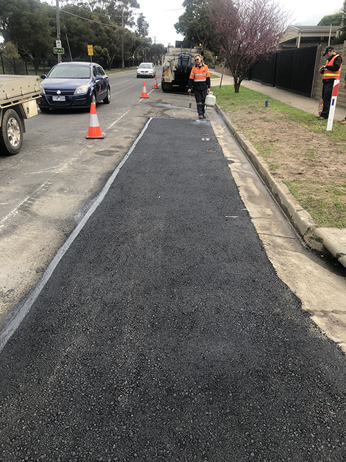 Asphalt Patching Geelong Region