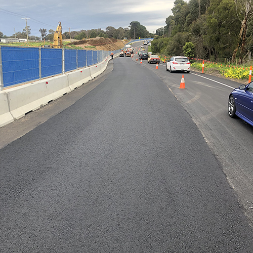 Traffic Management for road works on Bypass
