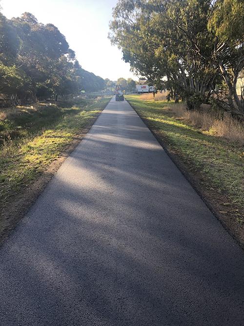Rail Trail new pathway