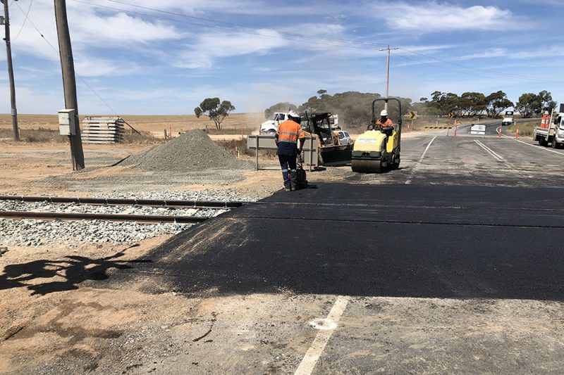 Ouyen Rail Crossing Project