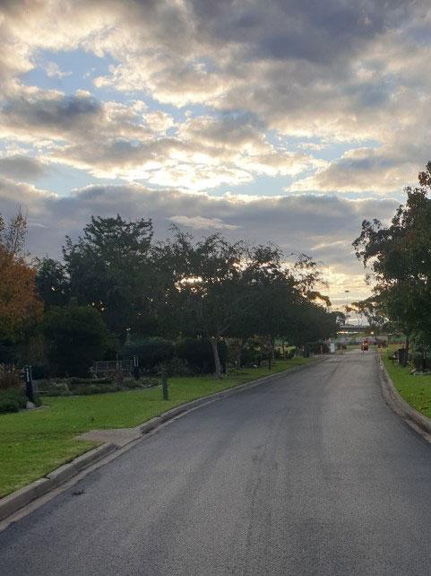 Altona Cemetery Car Park
