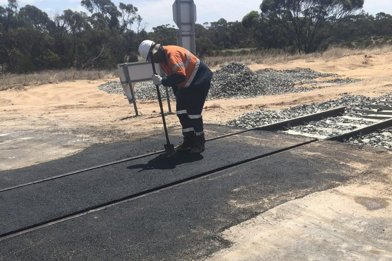 Ouyen Rail repair